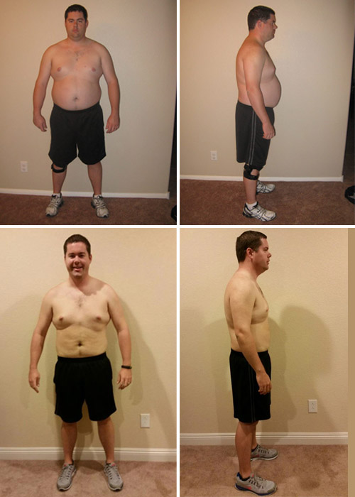 Fitness Testimonial Before and After