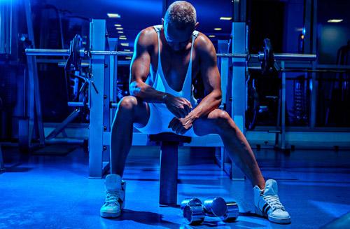 Skype online fitness training